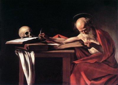 CaravaggioSJeronimo 1605