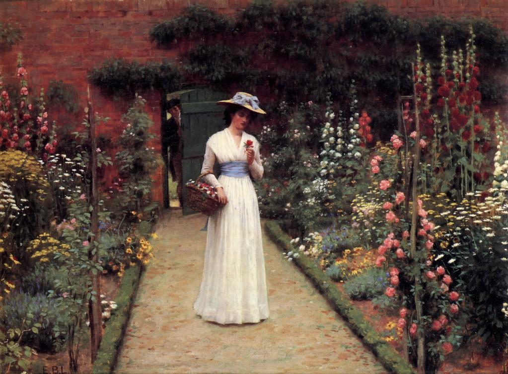 Leighton-Lady_in_a_Garden