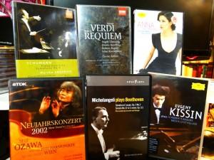 DVDs opera 2