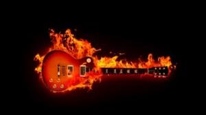 01 guitarra pegando fogo