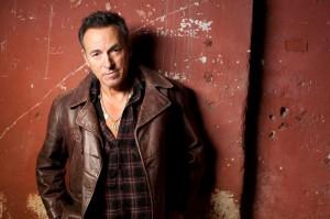 Bruce Springsteen retrato em quase sepia