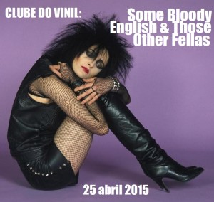 Clube do Vinil some bloody english CAPA