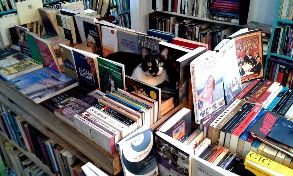 Gardenia entre os livros