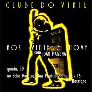 Clube do Vinil com Maizena - FLYER