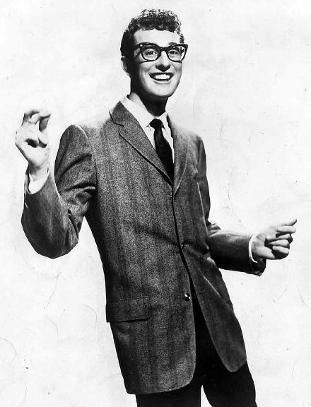 1 Buddy Holly classico estalando os dedos