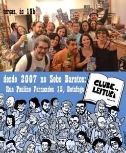 CLUBE DA LEITURA toda terça as 19h