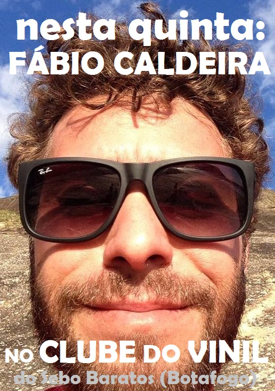 Fabio no Clube do Vinil