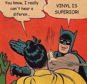 1 Vinil Batman diz