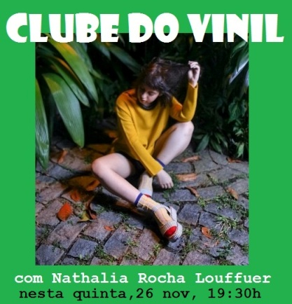 1 Clube do Vinil Indie com Nathalia FLYER