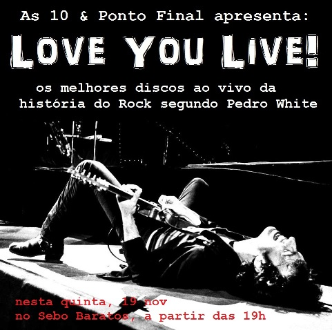 10PF Love Your Live capa - FLYER