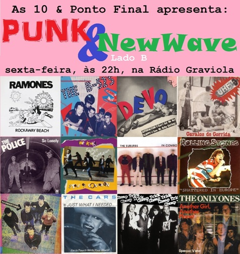 10PF Punk New Wave FLYER