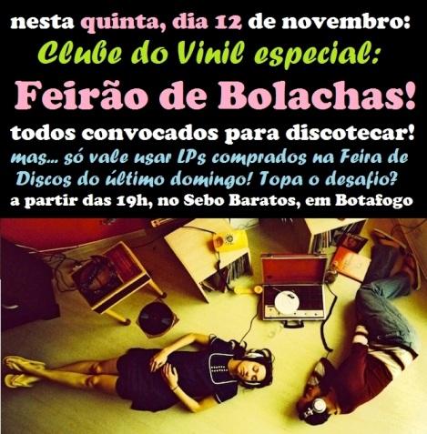Clube do Vinil Feirao das Bolachas FLYER
