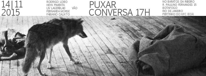 Flyer Puxando conversa