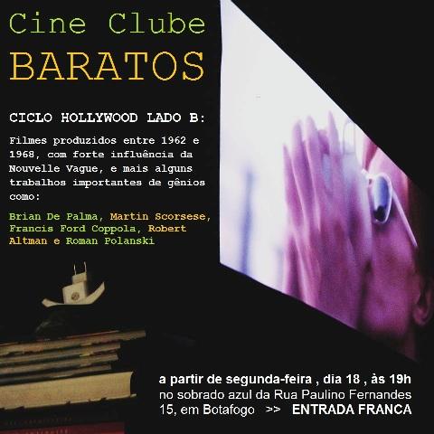 Cine Clube Baratos Hollywood Lado B