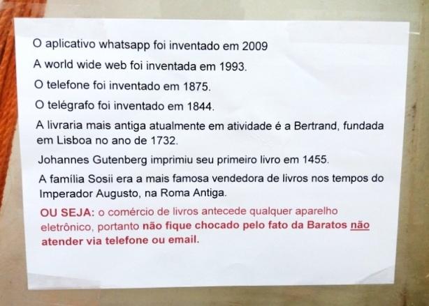 Lição de História